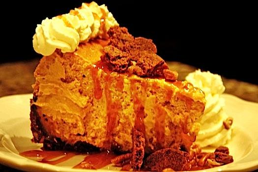 Pumpkin Gingersnap Cheesecake Recipe — Dishmaps