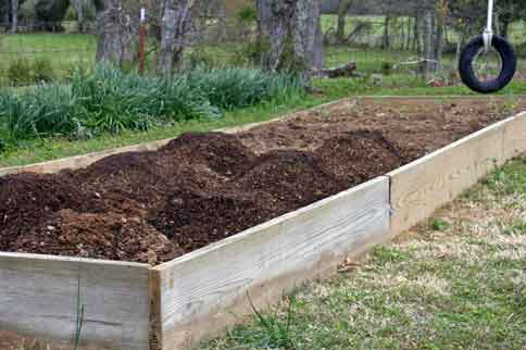 Garden-after-planting
