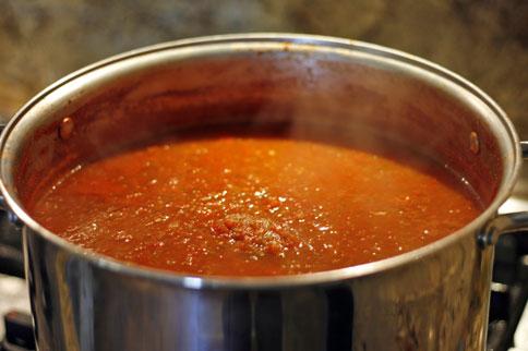 Salsa-Cooking