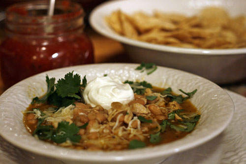 Tennessee White Chili Recipes — Dishmaps