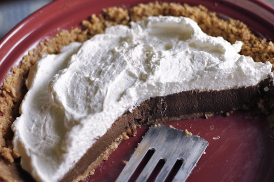 Chocolate Icebox Pie 2