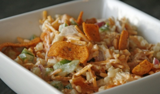 chili cheese frito's corn salad