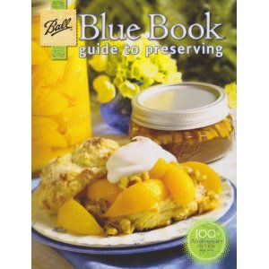 ball blue book of canning