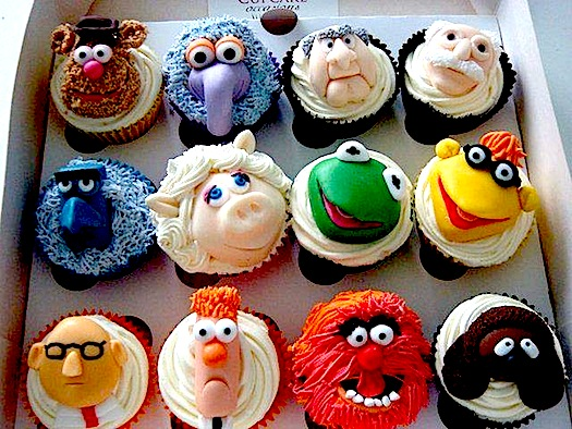 how to make muppet cupcakes
