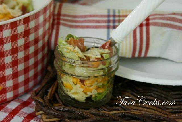 BLT Pasta Ranch Salad