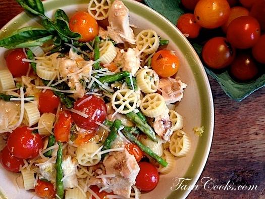 Summer Chicken Pasta Bowl