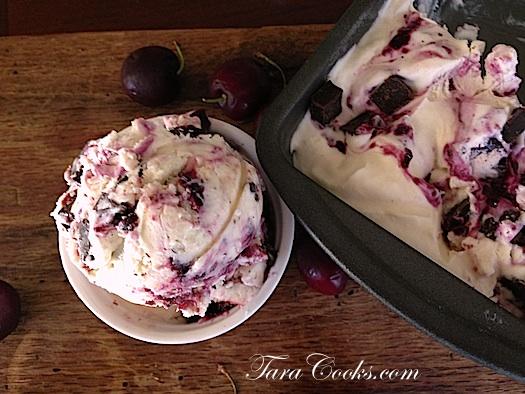 cherry chip ice ceam