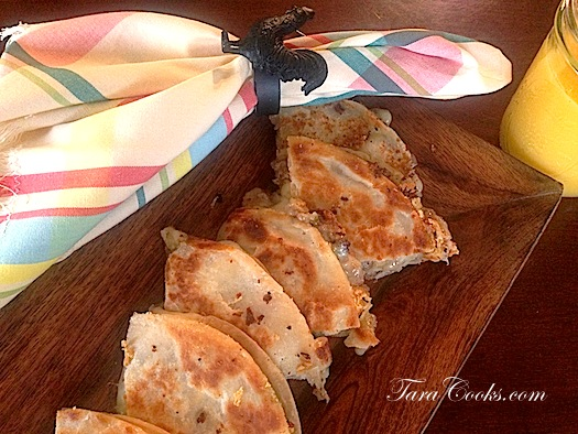 Breakfast Sausage Quesadillas