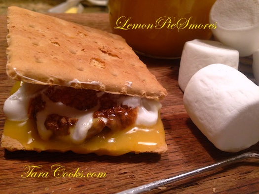 Lemon Pie Smores
